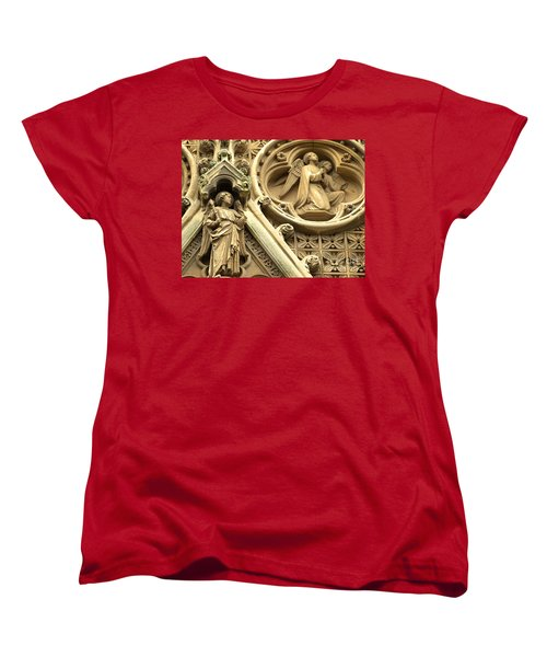 Truro Cathedral Women's T-Shirt (Standard Cut) by Rachel Mirror
