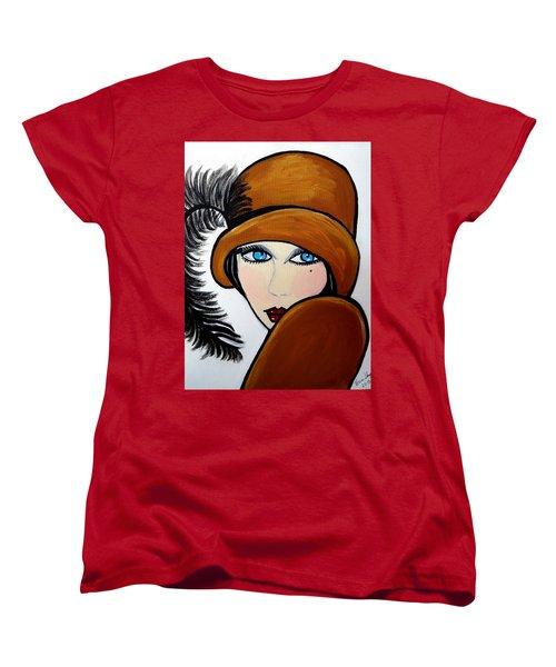 Art Deco  Gail Women's T-Shirt (Standard Cut) by Nora Shepley