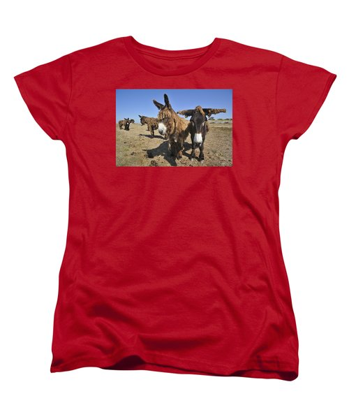 Women's T-Shirt (Standard Cut) featuring the photograph 120920p029 by Arterra Picture Library