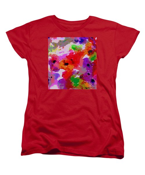 Women's T-Shirt (Standard Cut) featuring the painting A Little Watercolor by Jamie Frier