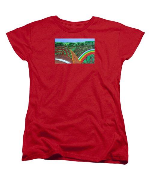 Hidden Forest Women's T-Shirt (Standard Cut) by Lorna Maza