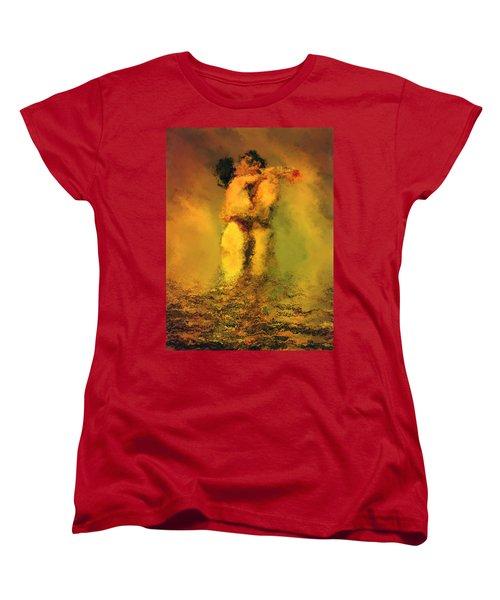 Lovers Women's T-Shirt (Standard Cut) by Kurt Van Wagner