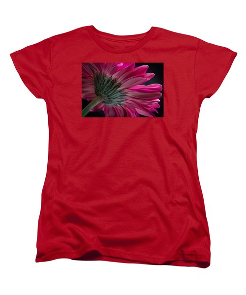 Pink Flower Women's T-Shirt (Standard Cut) by Edgar Laureano