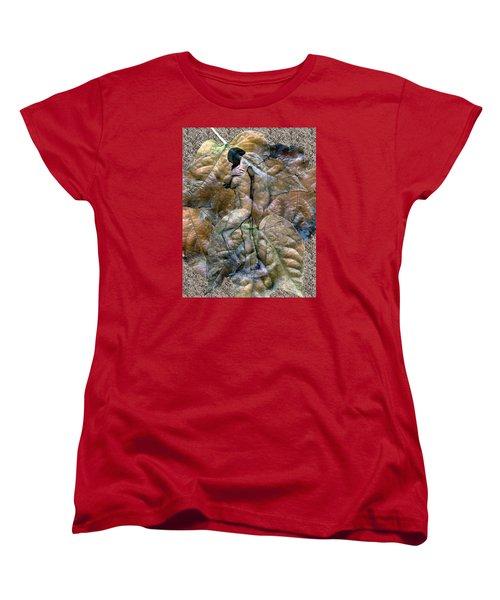 Sheltered Women's T-Shirt (Standard Cut) by Kurt Van Wagner