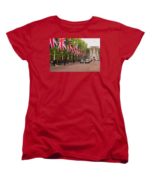The Mall Women's T-Shirt (Standard Cut) by Matt Malloy