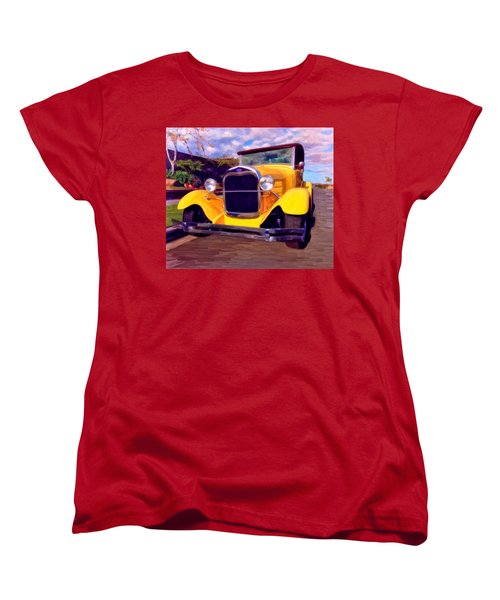 '28 Ford Pick Up Women's T-Shirt (Standard Cut) by Michael Pickett