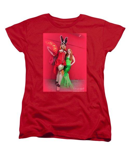 Mermaid Parade 2011 Women's T-Shirt (Standard Cut) by Mark Gilman