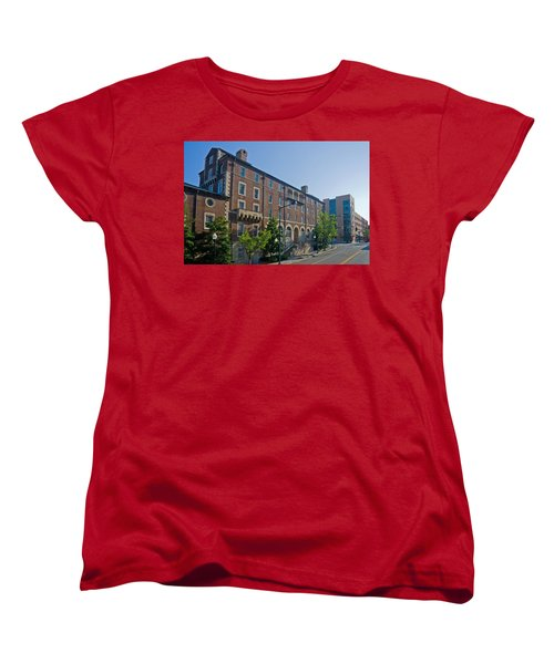 Downtown Knoxville Women's T-Shirt (Standard Cut) by Melinda Fawver