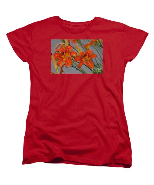 Day Lilly Women's T-Shirt (Standard Cut) by William Norton