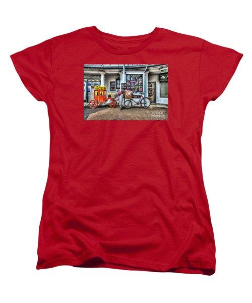 Ye Olde Sweet Shoppe Women's T-Shirt (Standard Cut) by Steve Purnell