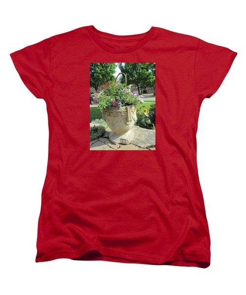 Women's T-Shirt (Standard Cut) featuring the photograph A Basket Summer  by Jieming Wang