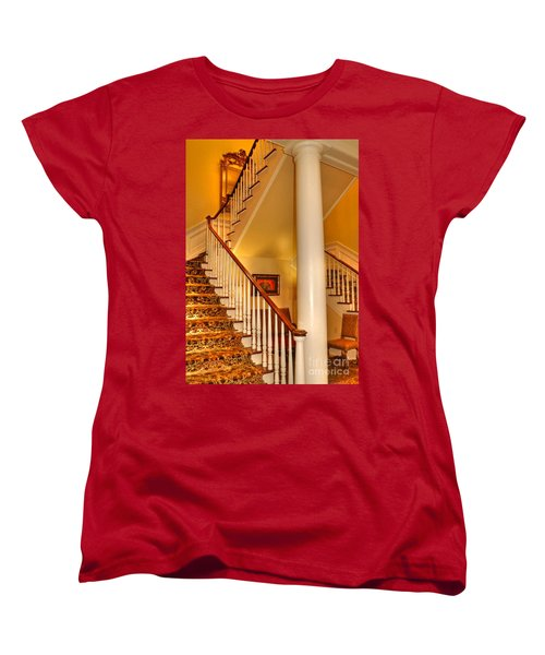 Women's T-Shirt (Standard Cut) featuring the photograph A Bit Of Southern Style by Kathy Baccari