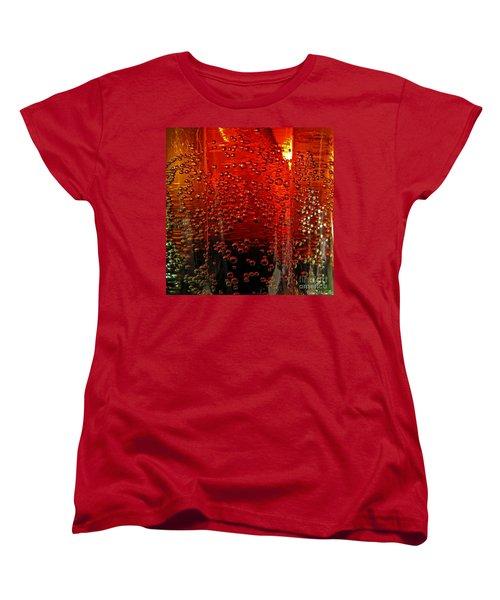 A Bit Of The Bubbly    Pepsi Women's T-Shirt (Standard Cut) by Debbie Portwood
