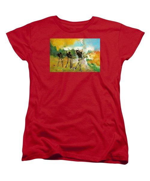 A Brilliant Shot Women's T-Shirt (Standard Cut) by Catf