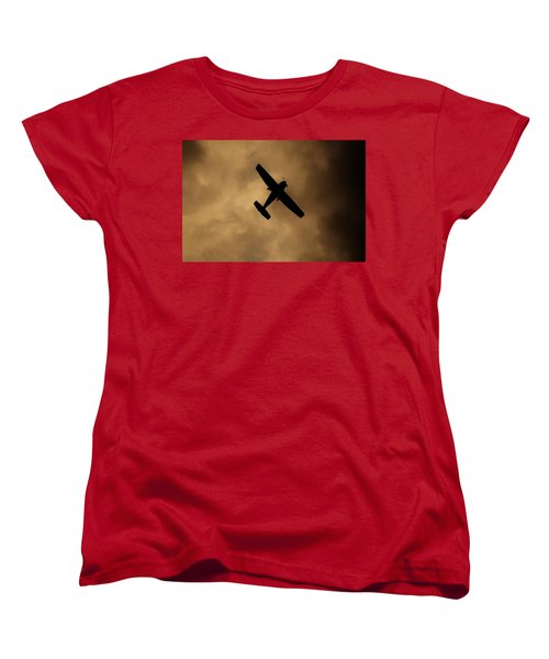 A Dance In The Clouds Women's T-Shirt (Standard Cut) by Jessica Shelton