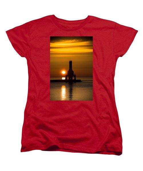 A New Day Women's T-Shirt (Standard Cut) by James  Meyer