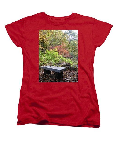 A Place To Think II Women's T-Shirt (Standard Cut) by Barbara Bardzik