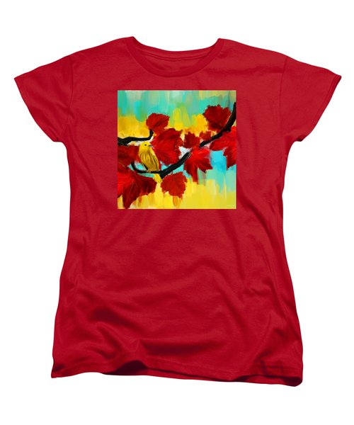 A Ponder Women's T-Shirt (Standard Cut) by Lourry Legarde