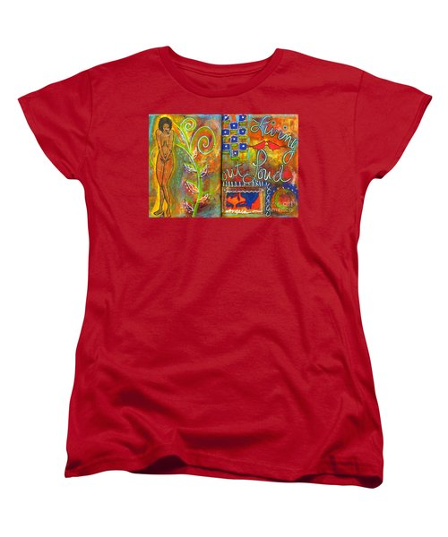 A Rebirth Of Sorts Women's T-Shirt (Standard Cut) by Angela L Walker