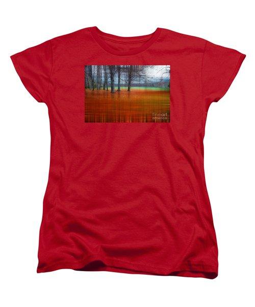 abstract atumn II Women's T-Shirt (Standard Cut) by Hannes Cmarits