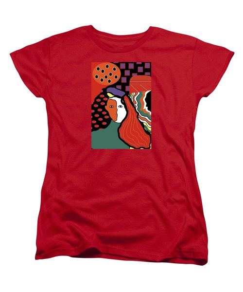 Abstract Lady Women's T-Shirt (Standard Cut)