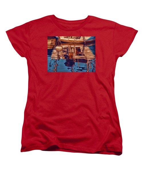 Abstract Reflections Women's T-Shirt (Standard Cut) by Muhie Kanawati