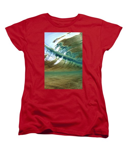 Abstract Underwater 2 Women's T-Shirt (Standard Cut) by Vince Cavataio - Printscapes