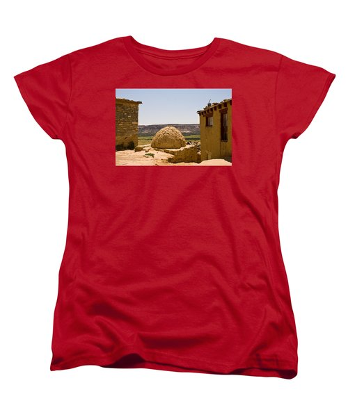 Acoma Oven Women's T-Shirt (Standard Cut) by James Gay