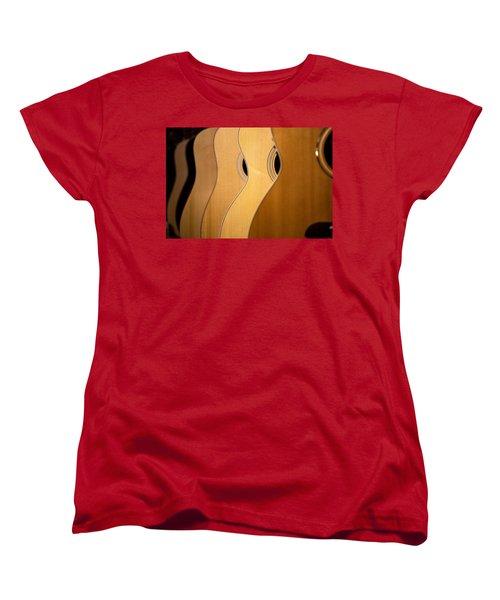 Women's T-Shirt (Standard Cut) featuring the photograph Acoustic Design by John Rivera