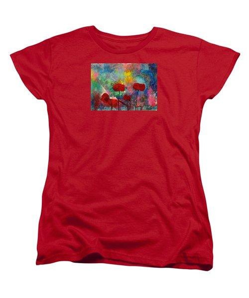 Acrylic Msc 078 Women's T-Shirt (Standard Cut) by Mario Sergio Calzi