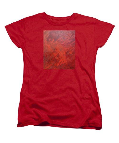 Acrylic Msc 181 Women's T-Shirt (Standard Cut) by Mario Sergio Calzi