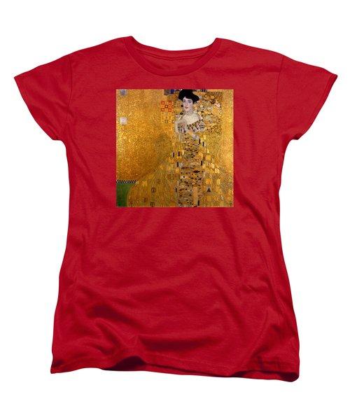 Adele Bloch Bauers Portrait Women's T-Shirt (Standard Cut) by Gustive Klimt
