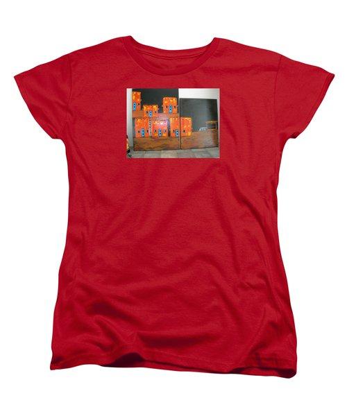 Adobes Women's T-Shirt (Standard Cut) by Sharyn Winters