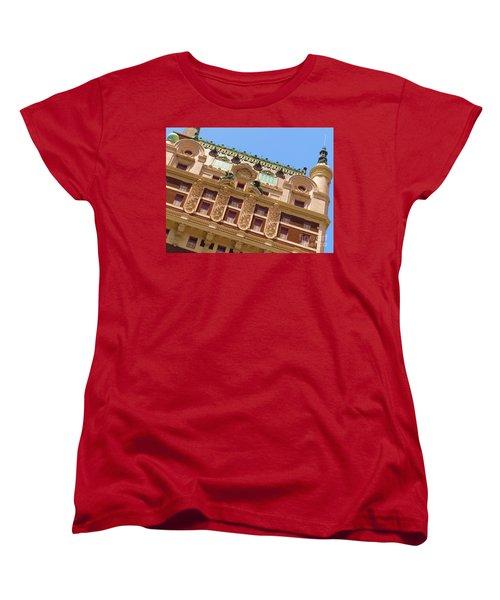 Women's T-Shirt (Standard Cut) featuring the photograph Adolphus Hotel - Dallas #1 by Robert ONeil
