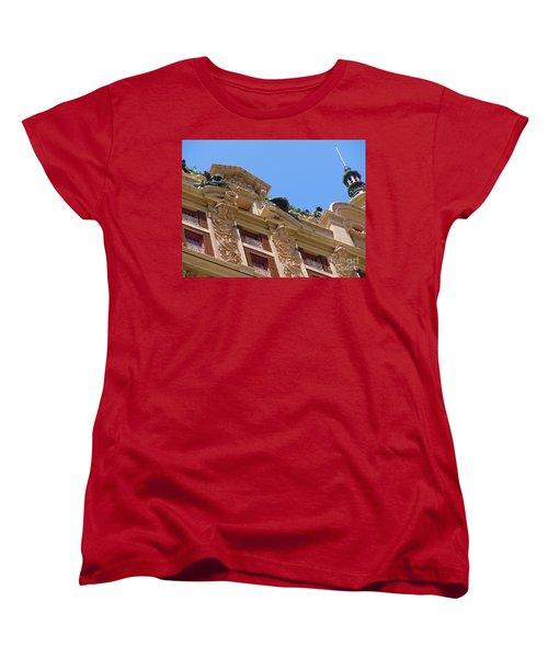 Women's T-Shirt (Standard Cut) featuring the photograph Adolphus Hotel - Dallas #2 by Robert ONeil
