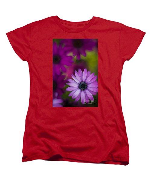 African Gerbera Standout Women's T-Shirt (Standard Cut) by Mike Reid
