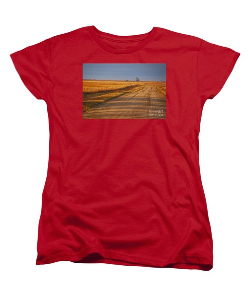 Afternoon Shadows Women's T-Shirt (Standard Cut) by Mary Carol Story