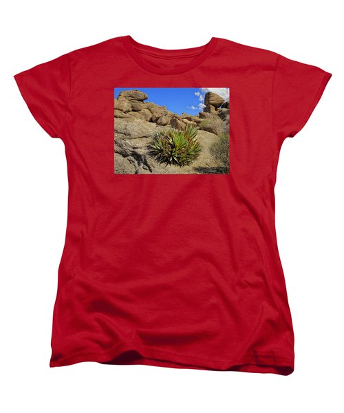 Against The Odds Women's T-Shirt (Standard Cut) by Michael Pickett