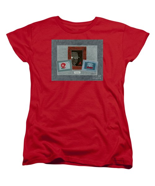 Alabama Trio  Women's T-Shirt (Standard Cut) by Herb Strobino
