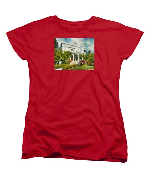 Alameda 1896-97 Colonial Revival Women's T-Shirt (Standard Cut) by Linda Weinstock