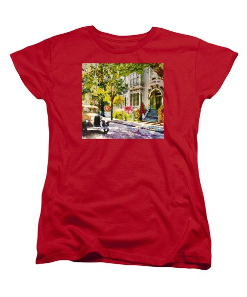 Alameda  Afternoon Drive Women's T-Shirt (Standard Cut) by Linda Weinstock