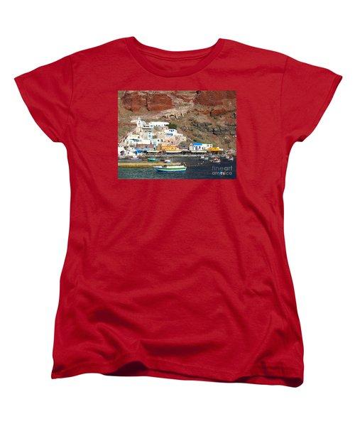 Amoudi Bay Women's T-Shirt (Standard Cut) by Suzanne Oesterling