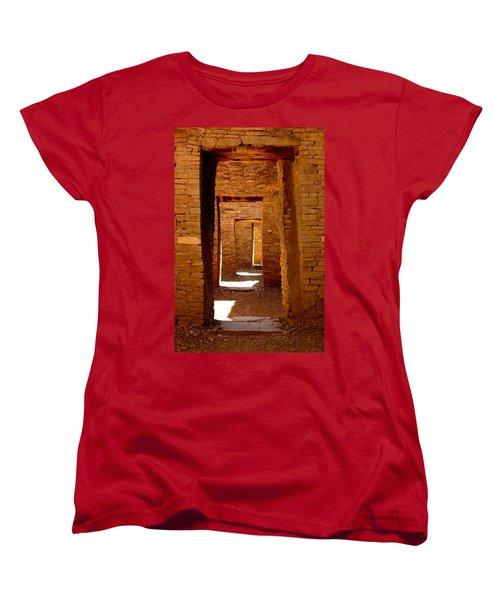 Ancient Galleries Women's T-Shirt (Standard Cut) by Joe Kozlowski