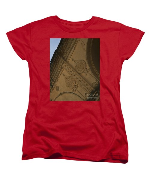Women's T-Shirt (Standard Cut) featuring the photograph Ancient Wall by Mini Arora