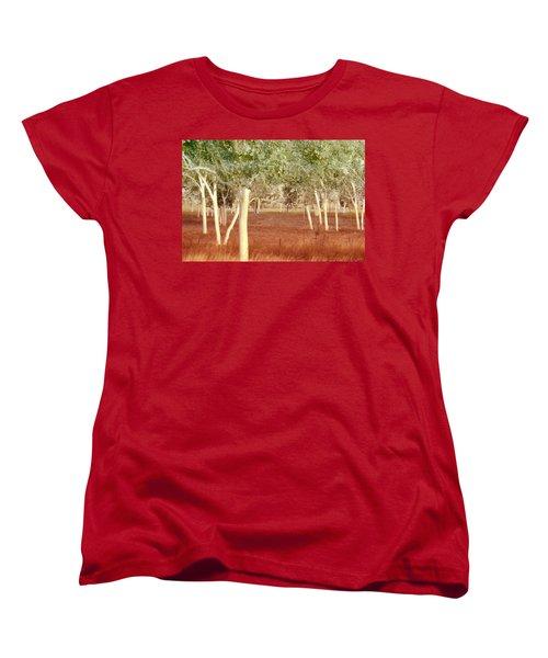 And The Trees Danced Women's T-Shirt (Standard Cut)