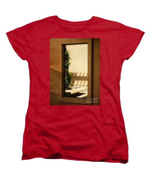 Angled Reflections2 Women's T-Shirt (Standard Cut) by Meghan at FireBonnet Art