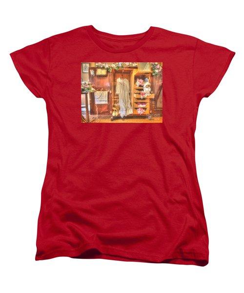 Antique Armoire Women's T-Shirt (Standard Cut) by Liane Wright