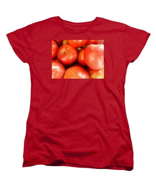 Apples Women's T-Shirt (Standard Cut) by Cynthia Lassiter