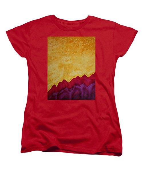 Ascension Original Painting Women's T-Shirt (Standard Cut) by Sol Luckman