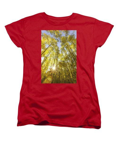 Aspen Day Dreams Women's T-Shirt (Standard Cut)